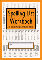 S-31 Spelling List Workbook (Spell the 500 English Basewords)