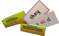 T-52 Hotwords Cards (Box of 100  English Baseword cards)
